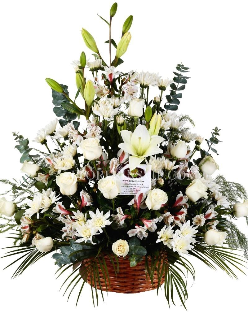 Condolencias Arreglo funerario Resignación