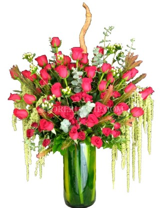 Flowers Arrangement Puebla Romantic bear