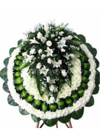 Condolencias Corona Funeraria Magnífica