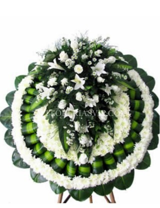 Condolences Magnificent Funeral Crown