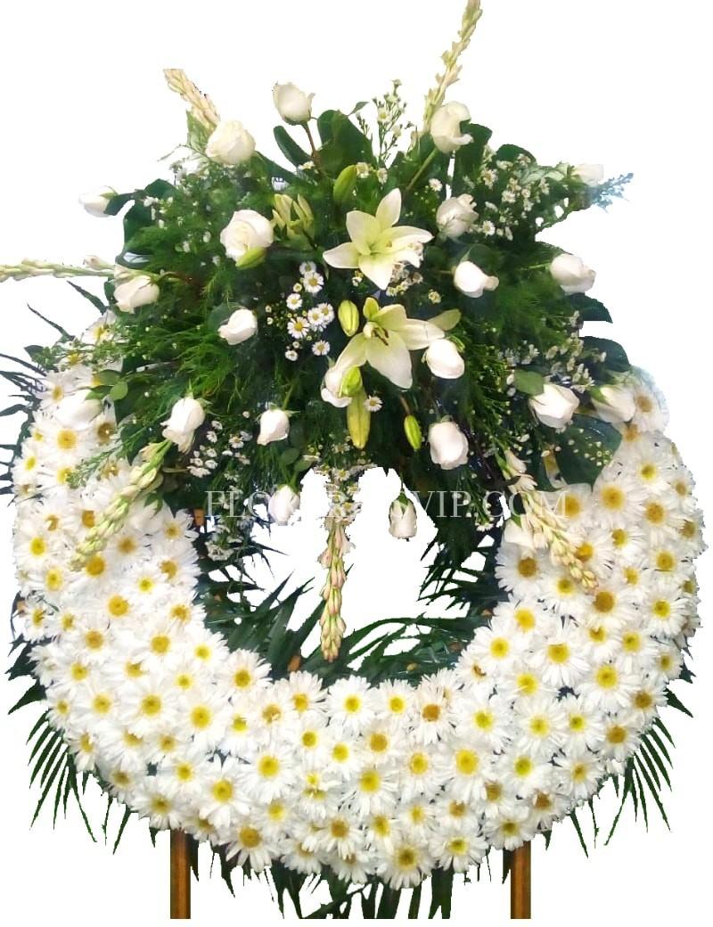 Condolences Funerary Crown Importance