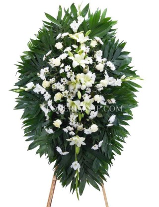 Funeral wreath eternity