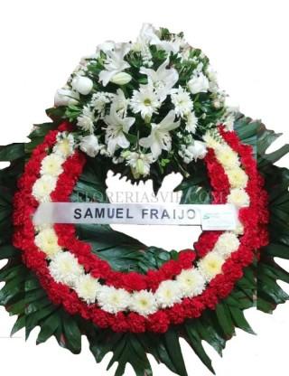 Union funerary crown