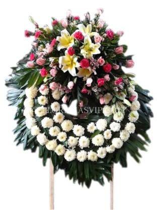 Serenity and Peace Wreath