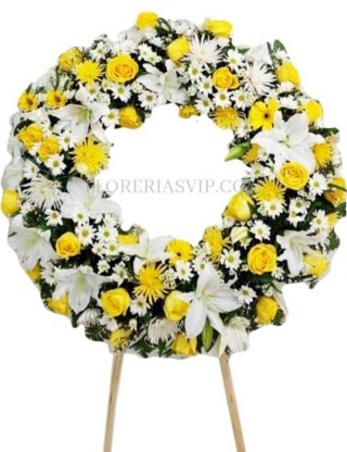 Classical Funeral Wreath