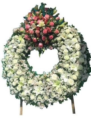 Paradise Funeral Wreath