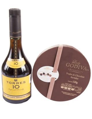 Dulce Torres con Godiva