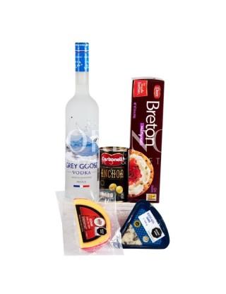 Set Vodka Gray Goose