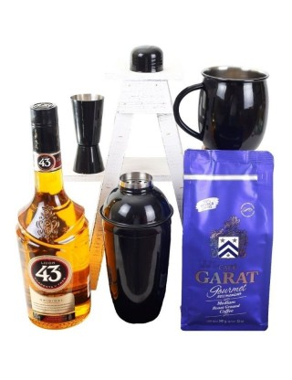 Carajillo and coffee Set