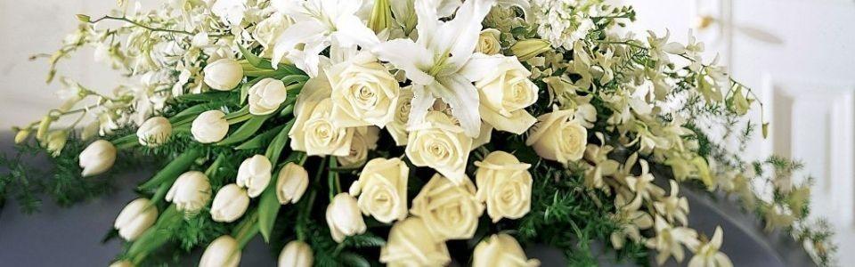 Flores, Arreglos, Canastas y Coronas de Flores para Servicios Funerarios en Todo México